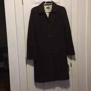 J Crew- Women's Double Cloth Lady Day Wool Coat